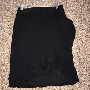 White House Black Market Ruffle Skirt (0)